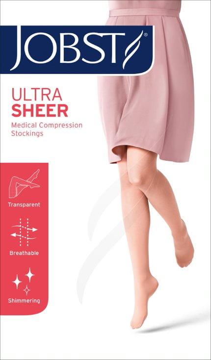 Meia Jobst Ultra Sheer 15-20mmHg Panturrilha