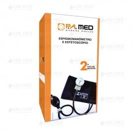 Aparelho Pressão Fecho Velcro Com Esteto Unisson P.A Med