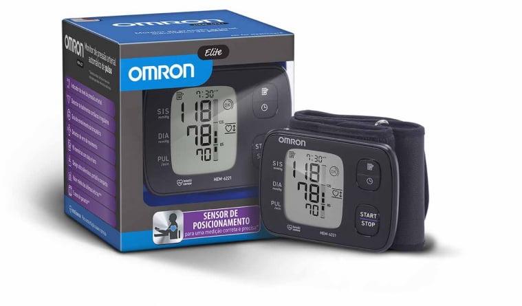 Aparelho De Pressão Digital De Pulso Elite Hem-6221 Omron