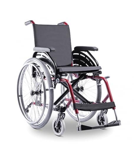 Cadeira Rodas Alumínio K1 120Kg  Ortobras