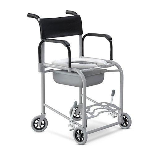 Cadeira De Banho Fixo Em Alumínio 120Kg Ortobras