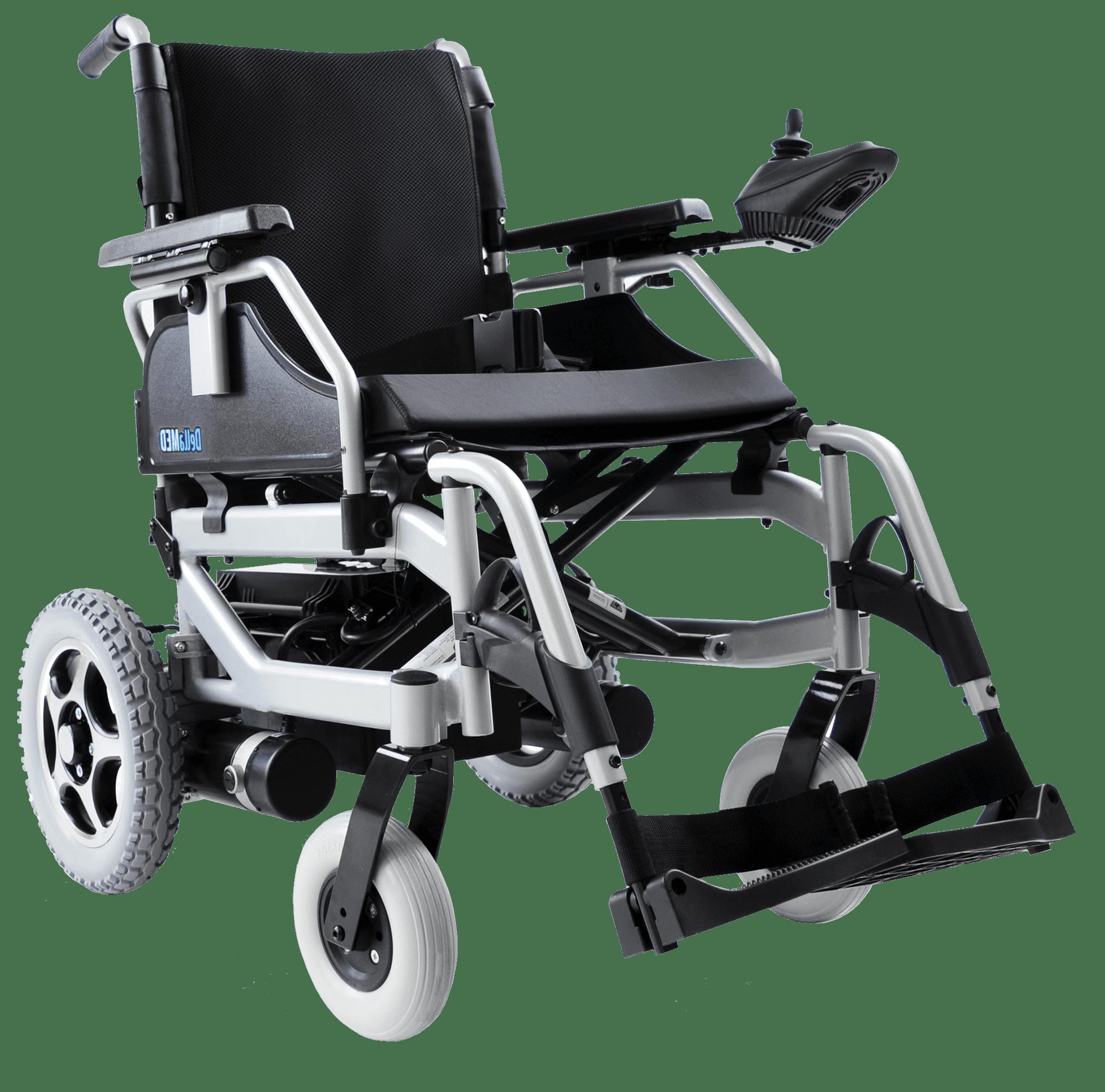 Cadeira De Rodas Motorizada D1000 Dellamed