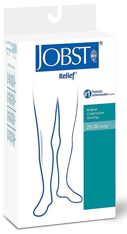 Meia Jobst Relief 20-30MMHG meia coxa