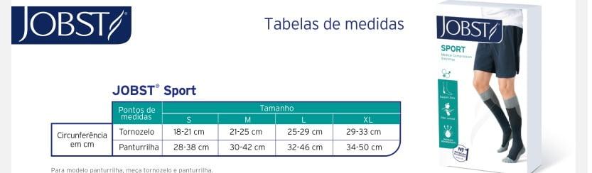 Meia Jobst Sport 20-30mmHg Panturrilha nas Lojas Ortopedia Vaalmed