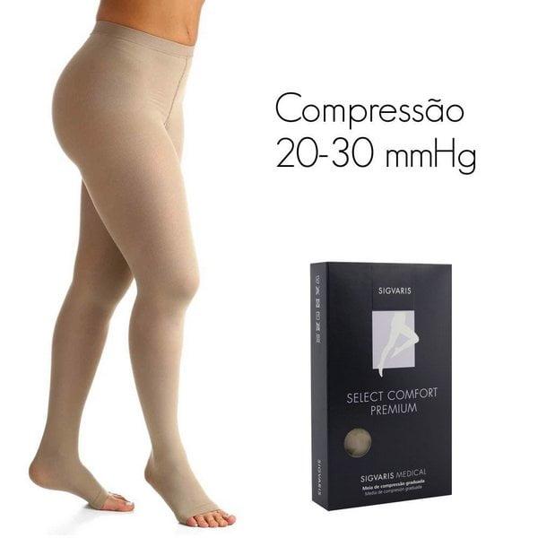 Meia Sigvaris 862 Select Comfort Premium 20-30 Mmhg Meia Calça
