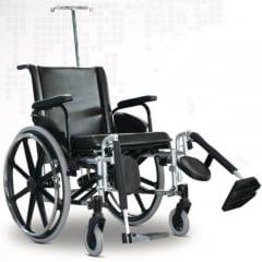 Cadeira De Rodas Ulx Hospitalar 160 kg 60 Cm