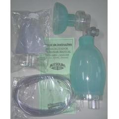Reanimador Pulmonar De Silicone Adulto ( Ambú ) Missouri