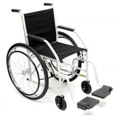 Cadeira De Rodas Até 85Kg Pneu Inflável
