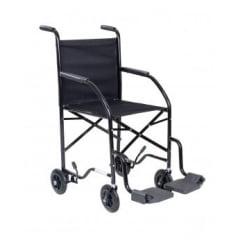 Cadeira De Rodas Econômica Até 85Kg