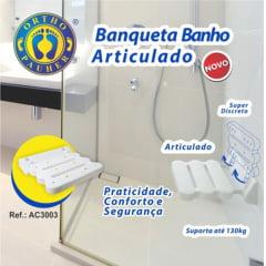 BANCO PARA BANHO DE PAREDE ARTICULADO ORTHOPAUHER