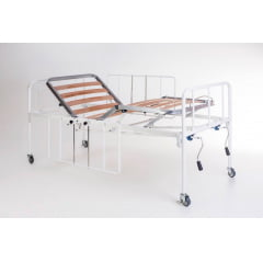 CAMA HOSPITALAR MANUAL COM REGULAGEM DE ALTURA EVOLUTION
