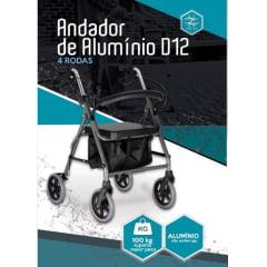 Andador De Alumínio D12 Dellamed