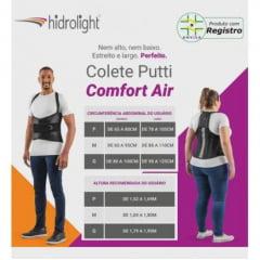 Colete Putti Comfort Air