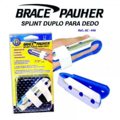 Splint Para Dedo Duplo Brace Pauher