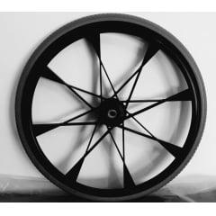 Roda traseira 24'' com pneu anti furo