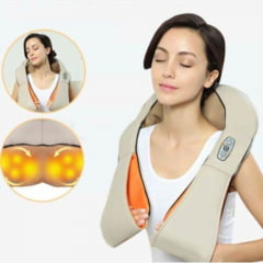 Massageador Shiatsu 3D Supermedy